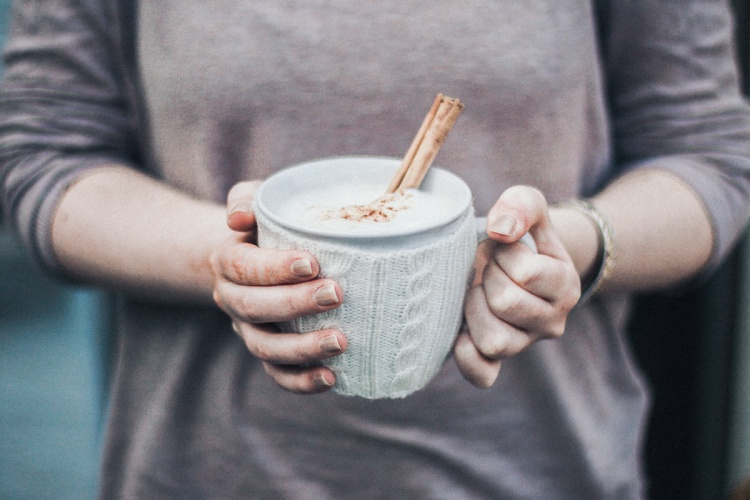 Chai Latte, Fall, Autumn, Cold, Cat, Girl, Cup, Cinnamon, Recipe, Beverage, Hot, Indian