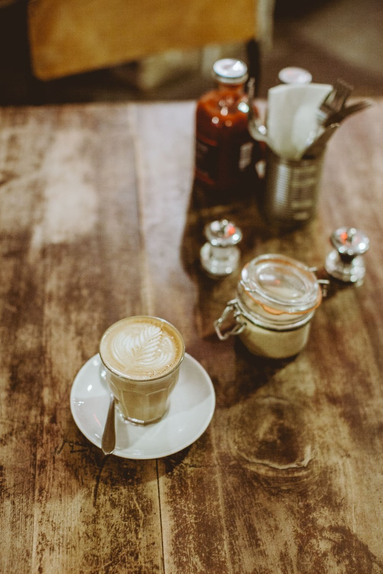 Freemans Coffee Shop Marchmont, Edinburgh, Scotland, Cappuccino, Food, Photography, Daniel Farò, Styling, Interior, Lunch, Shabby Chic, Roasted Coffee
